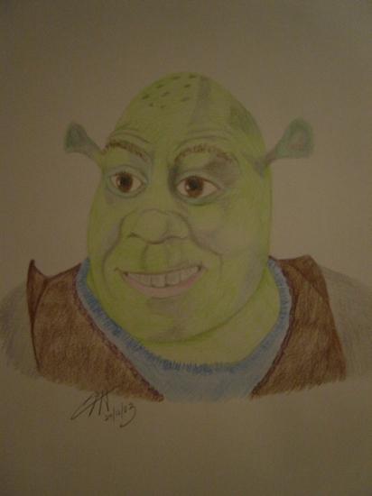 Shrek por Darkangel1955